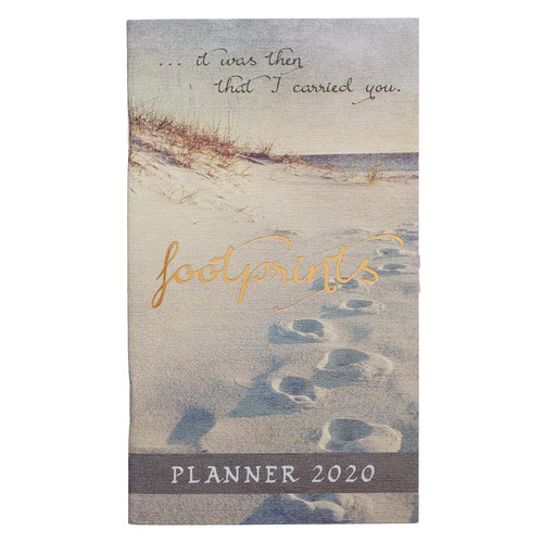 Footprints: 2020 Small Daily Planner