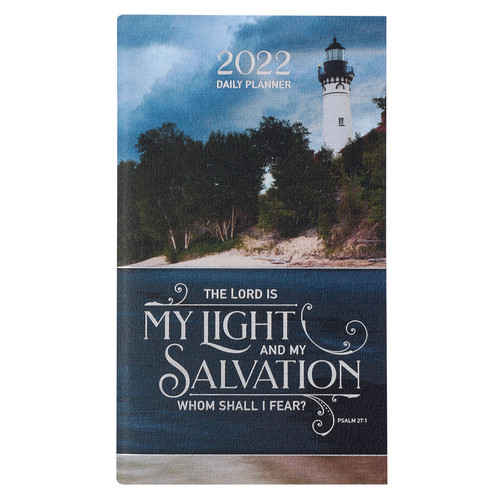 2022 Light & Salvation Daily Planner - Psalm 27:1