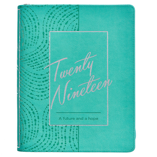A Future and A Hope - Jeremiah 29:11 2019 Large Classic Luxleather Planner
