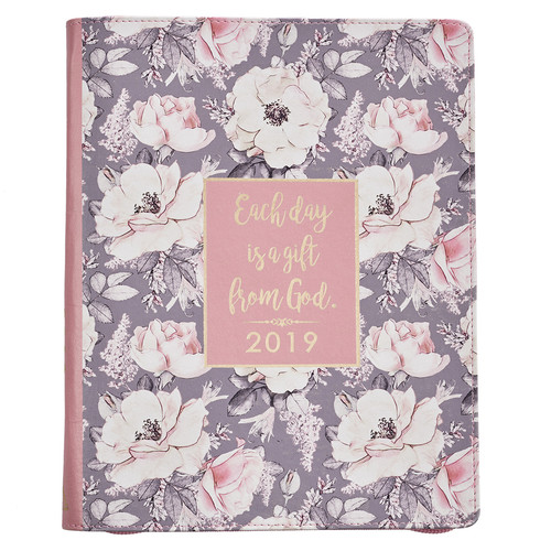 Everyday is a Gift From God 2019 Large Classic Luxleather Planner