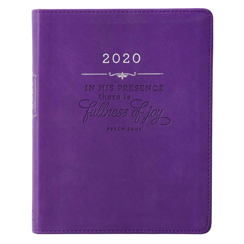 Fullness of Joy Daily Planner for Women 2020 - Psalm 16:11