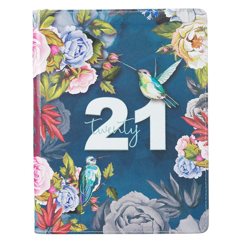 Birds and Botany twenty 21 Faux Leather Zippered Daily Planner