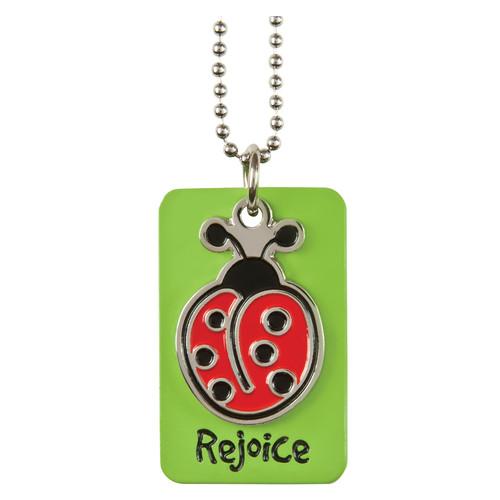 Laedee Bug:Rejoice Charm Necklace