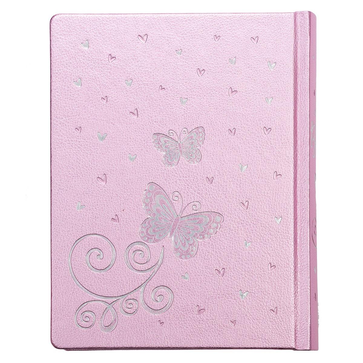 My Creative Bible for Girls, Journaling Bible - ESV - Pink ...