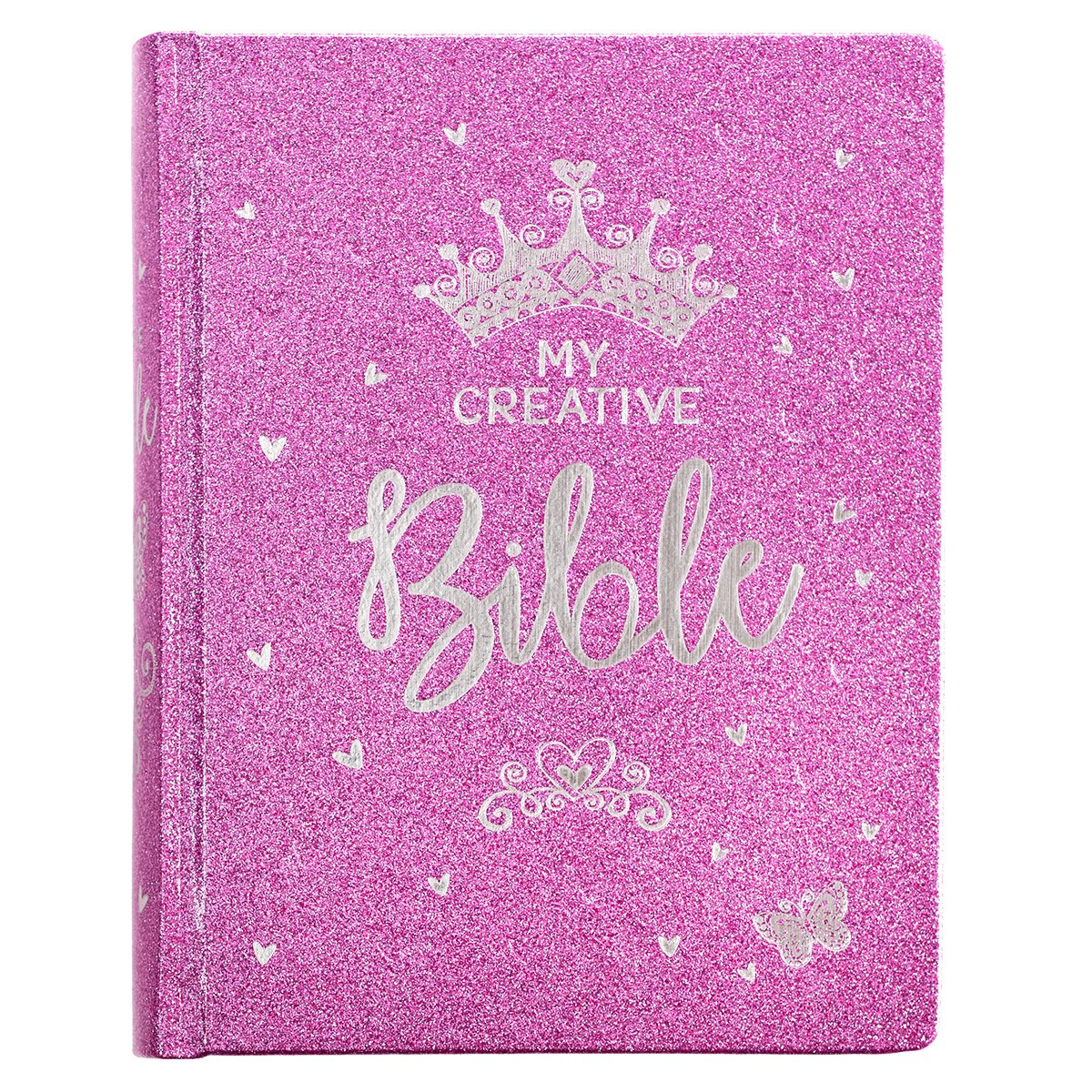 My Creative Bible for Girls, Journaling Bible - ESV - Purple Glitter ...