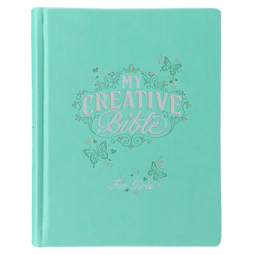 Teal Butterfly My Creative Bible for Girls