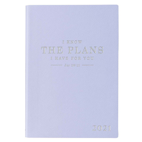 2021 I Know the Plans MyYearly Planner - Jeremiah 29:11