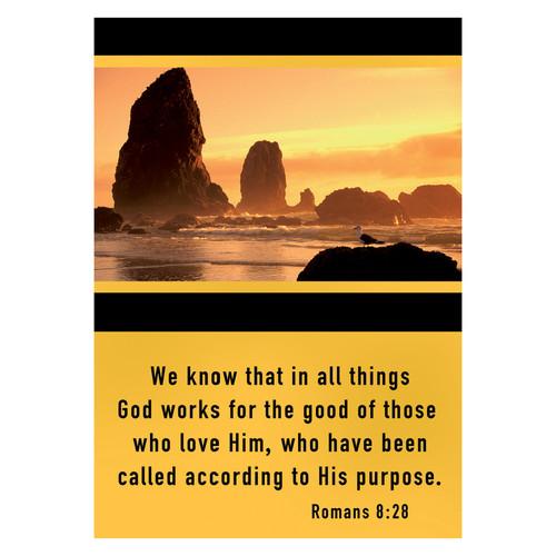 Romans 8:28: Friendship Cards