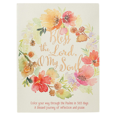 Bless the Lord, O My Soul Coloring Devotional - Psalms