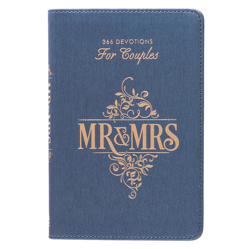 Mr and Mrs 366 Devotions for Couples in LuxLeather