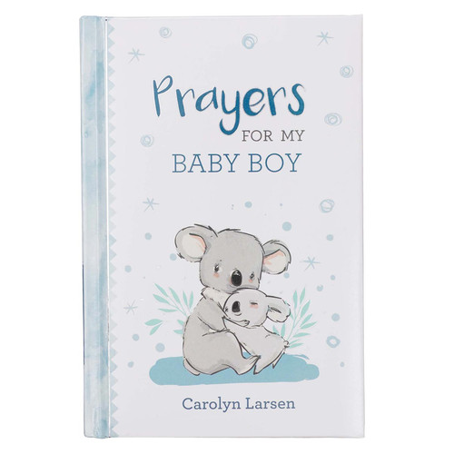 Prayers for My Baby Boy Prayer Book