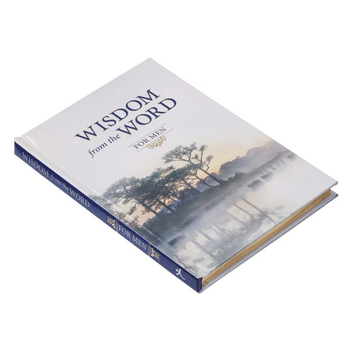 Wisdom from the Word for Men Hardcover Gift Book