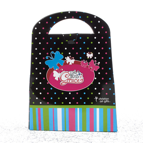 Little Miss Grace - Black Favor Bag