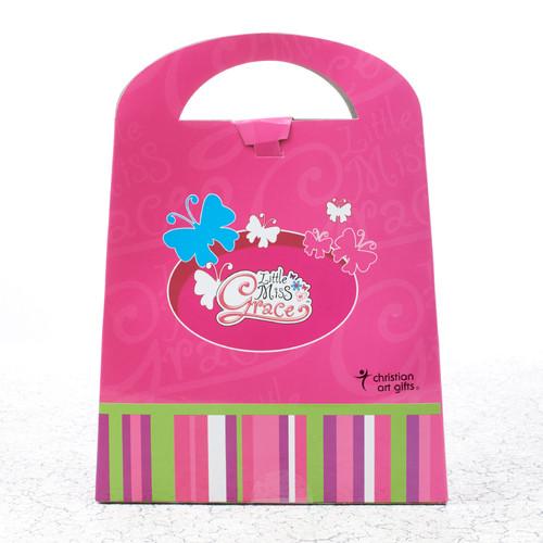 Little Miss Grace - Pink Favor Bag