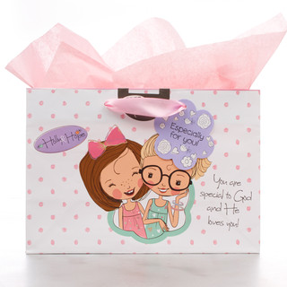 Small Gift Bag: Holly & Hope - You are Special to God
