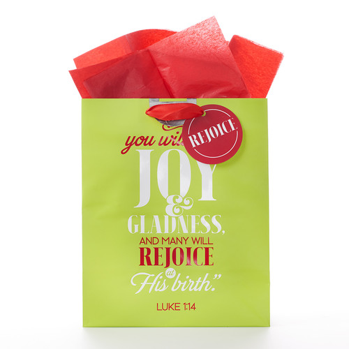 Joy and Gladness Gift Bag Lk 1:14