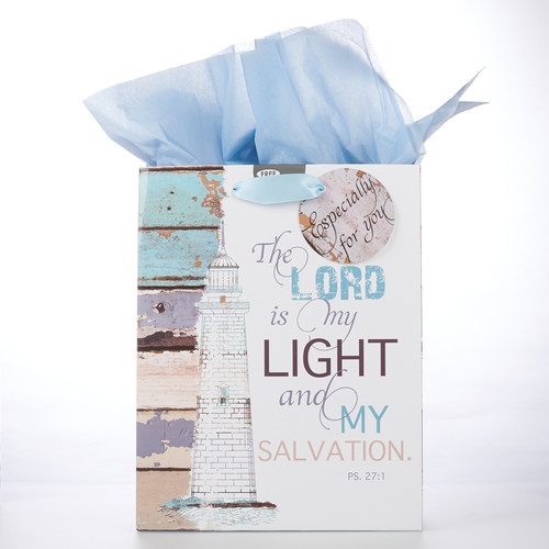 Medium Gift Bag: The Lord is my Light - Ps 27:1