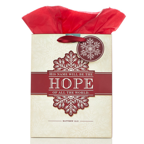 Medium Gift Bag His Name Will Be the Hope