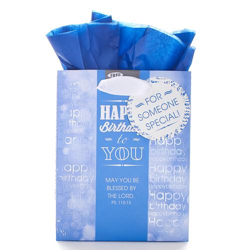 Happy Birthday - Ps 115:15 Small Gift Bag