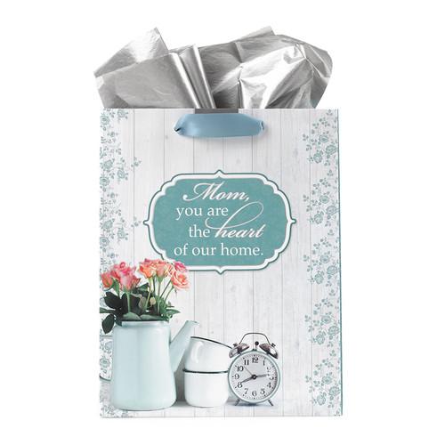 Medium Gift Bag: Heart of Home