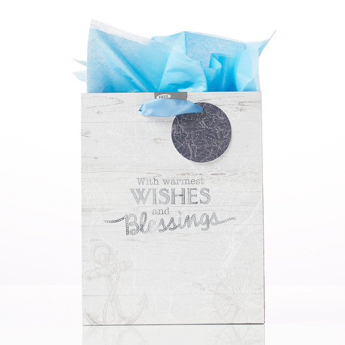 Wishes & Blessings - Isa 58:11 Medium Gift Bag
