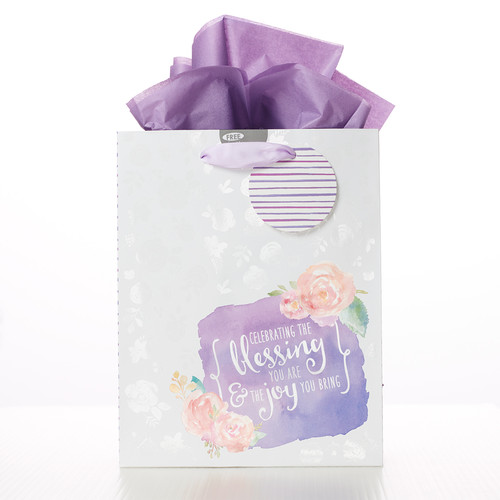 Celebrating the Blessing You are - Col 1:11 Medium Gift Bag