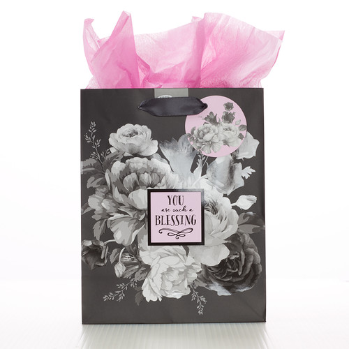 Botanical You Are Such a Blessing Gift Bag - Psalm 115:15