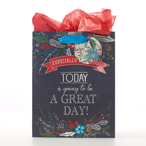 Medium Gift Bag: A Great Day - Psalm 118:24