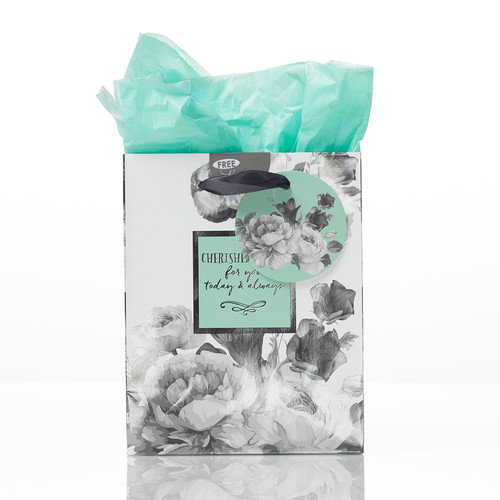 Botanical Cherished Wishes Gift Bag - Psalm 20:4