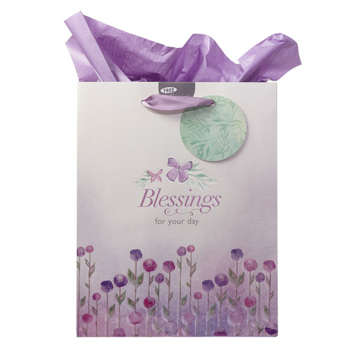 Blessings for Your Day - Deut 16:15 Medium Gift Bag