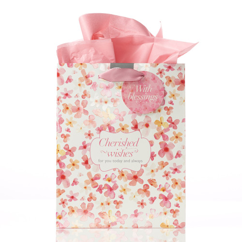 Cherished Wishes - Eph 3:19 Medium Gift Bag