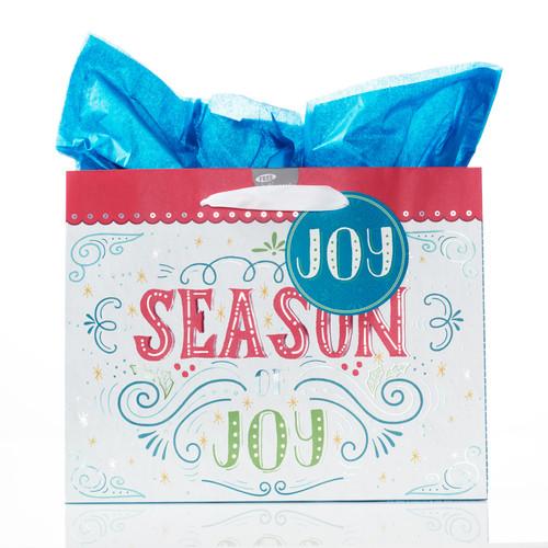 Large Christmas Gift Bag: Season of Joy