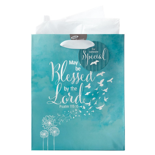 Soar Collection, May You Be Blessed - Psalm 115:15 Medium Gift Bag