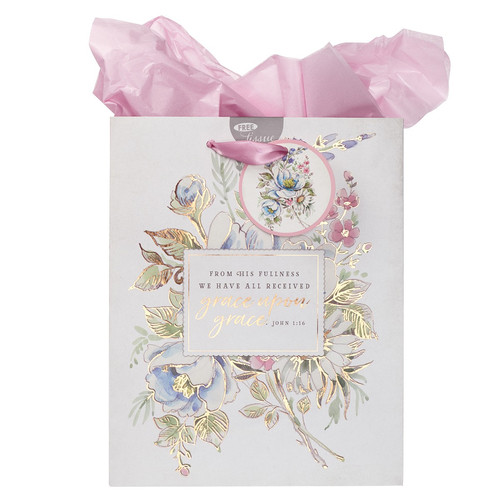 Grace Upon Grace - John 1:16 Medium Gift Bag