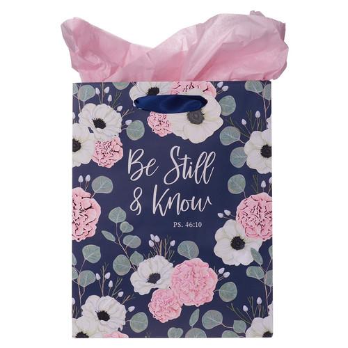 Be Still & Know Medium Gift Bag – Psalm 46:10