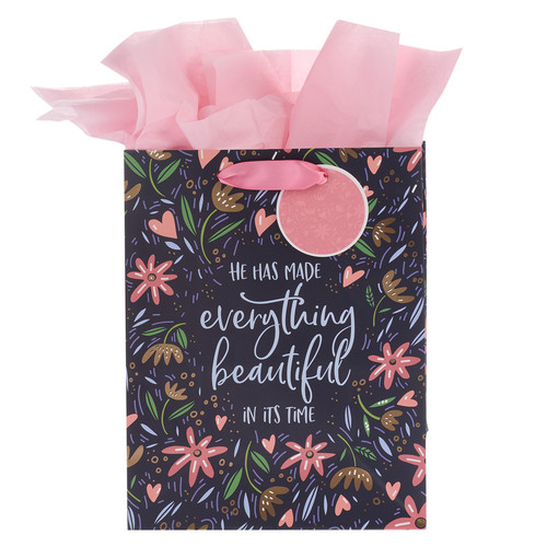 He Has Made Everything Beautiful Medium Gift Bag - Ecclesiastes 3:11