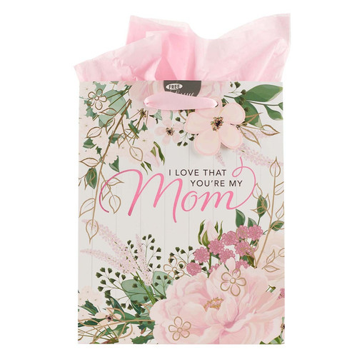 I Love that Youre My Mom Medium Gift Bag