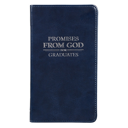 Promises from God for Graduates - LuxLeather Edition