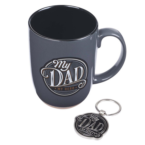 Fathers Day Mug and Keyring Gift Set for Men