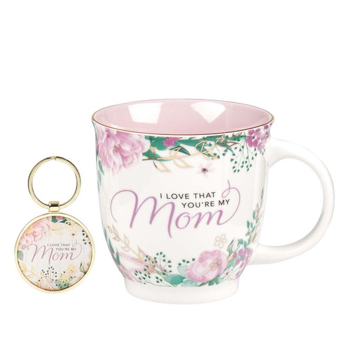 I Love That Youre My Mom 2-Piece Gift Set for Women