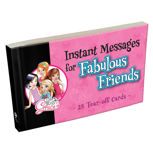 Little Miss Grace Instant Message Notepad