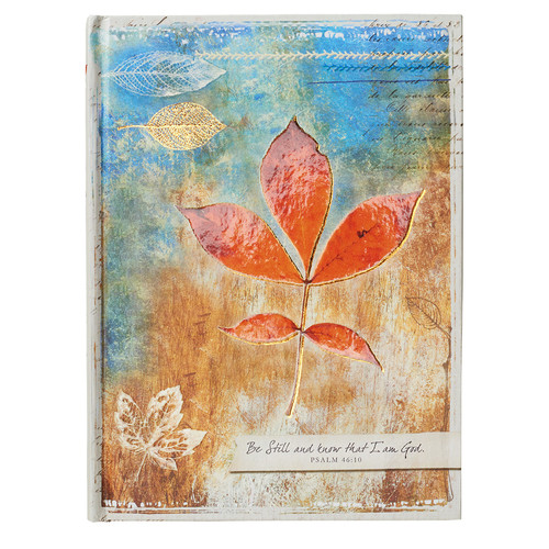 Be Still and Know Pearl Hardcover Journal - Psalm 46:10
