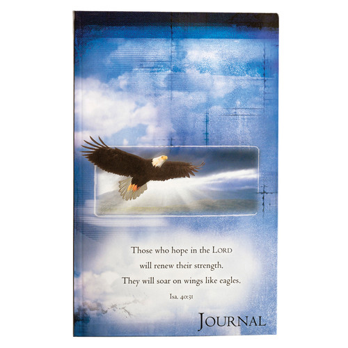 On Eagles Wings Flexcover Journal