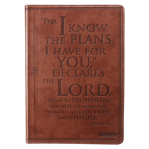 I know the Plans- Jeremiah 29:11 Journal