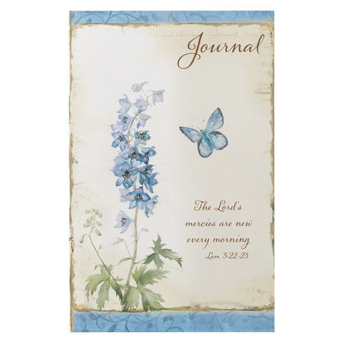 The Lords Mercies in floral flexcover Journal