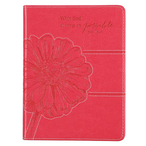 Pink: All Things Are Possible - Matthew 19:26 Journal