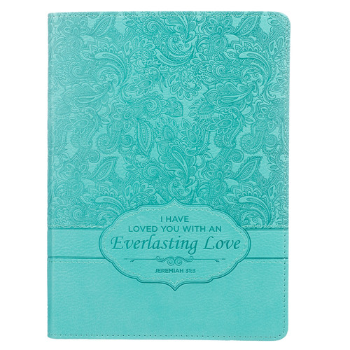 Turquoise: Everlasting Love - Jeremiah 31:3 Journal