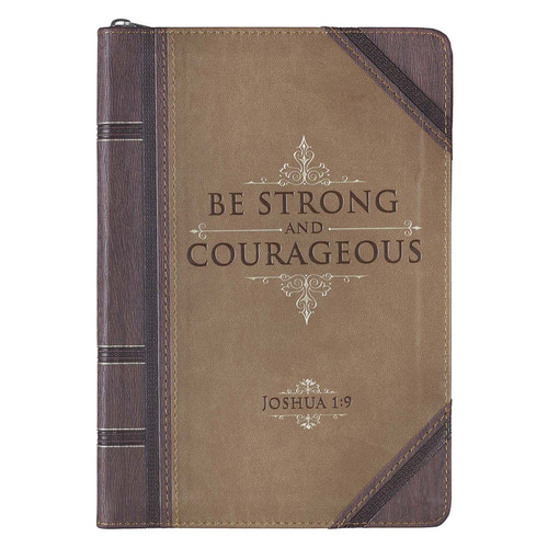 Strong and Courageous - Joshua 1:9 Journal