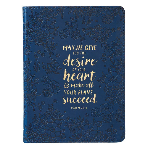 Desire of Your Heart Handy-sized LuxLeather Journal - Psalm 20:4