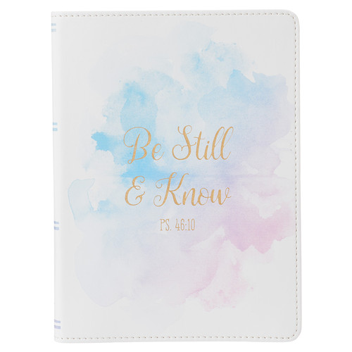 Be Still & Know (Ps 46:10) Classic LuxLeather Journal